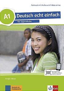 Deutsch Echt Einfach, Kursbuch Mit Audios Und Videos Online - A1