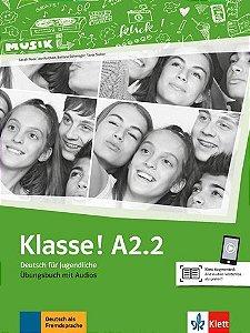 Klasse!, Übungsbuch Mit Audios - A2.2