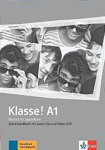 Klasse!, Lehrerhandbuch Mit Audio-CDs, Video-DVD - A1
