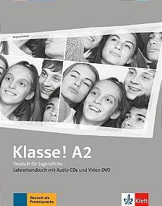 Klasse!, Lehrerhandbuch Mit Audio-CDs, Video-DVD - A2