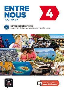 Entre Nous 4 - Livre De L'Élève + Cahier D'Activités + CD