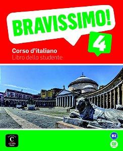 Bravissimo! 4 - Libro Dello Studente Con CD - B2
