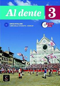 Al Dente 3 - Libro Dello Studente + Esercizi+CD+DVD Premium