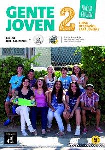 Gente Joven 2 Nueva Edición Libro Del Alumno + CD