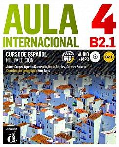 Aula Internacional 4 Nueva Edición B2.1 Libro Del Alumno + CD