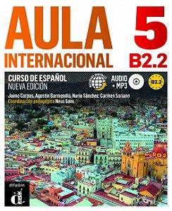 Aula Internacional 5 Nueva Edición B2.2 Libro Del Alumno + CD