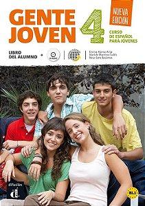 Gente Joven 4 Nueva Edición Libro Del Alumno + CD