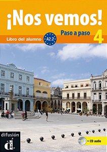 ¡Nos Vemos! 4 A2.2 - Libro Del Alumno + CD