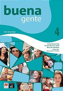 Buena Gente - Libro Del Profesor & Digital Pack 4