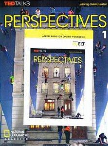 Perspectives - AmE - 1 - Student Book com Online Workbook