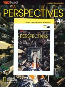 Perspectives - AmE - 4 - Combo Split B com Online Workbook