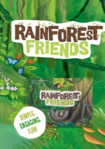 Rainforest Friends Student's Book - Nursery