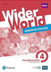 Wider World 4 - American Edition - Teacher'S Book With Digital Resources + Online