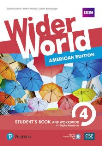 Wider World 4 - American Edition - Student'S Book And Workbook With Digital Resources + Online