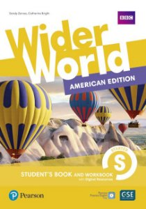 Wider World Starter - American Edition - Student'S Book And Workbook With Digital Resources + Online