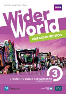 Wider World 3 - American Edition - Student'S Book And Workbook With Digital Resources + Online