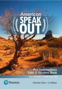 Speakout - American - Pre-Intermediate - Split 2 Student Book With Dvd-Rom And Mp3 Audio Cd