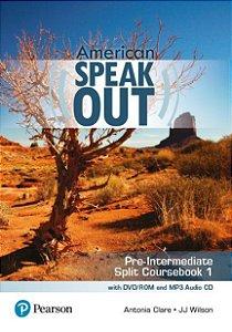 Speakout - American - Pre-Intermediate - Split Coursebook 1 With Dvd-Rom And Mp3 Audio Cd