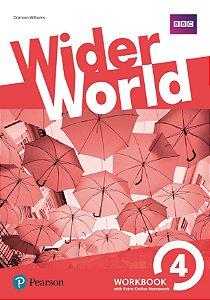 Wider World 4 - Workbook With Online Homework Pack