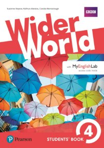 Wider World 4 - Students' Book With Myenglishlab Pack