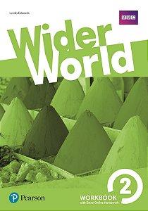 Wider World 2 - Workbook With Online Homework Pack