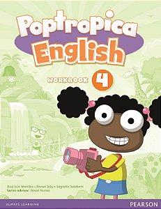 Poptropica English 4 - Workbook - American Edition