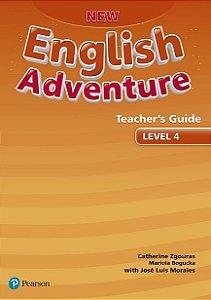 New English Adventure 4 - Teacher'S Guide