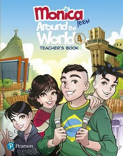 Monica Teen - Around The World 4 - Teacher'S Book
