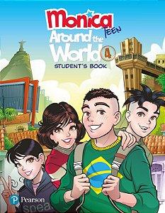 Monica Teen - Around The World 4 - Student'S Book - Pack