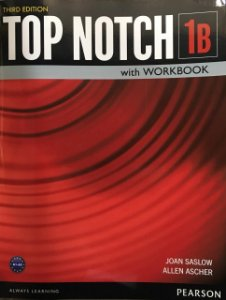 Top Notch 1B - Student Book With Workbook