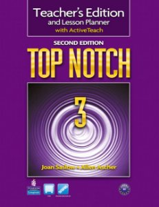 Top Notch 3 - Teacher'S Edition And Lesson Planner With Activeteach