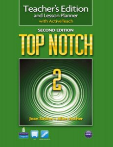 Top Notch 2 - Teacher'S Edition And Lesson Planner With Activeteach