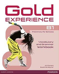 Gold Experience B1 - Vocabulary And Grammar Workbook