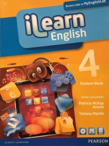 Ilearn English 4 - Student Book + Workbook + Multi-Rom + Reader + Myenglishlab