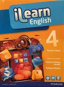 Ilearn English 4 - Teacher Book + Multi-Rom + Reader