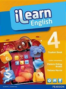 Ilearn English 4 - Student Book + Workbook + Multi-Rom + Reader