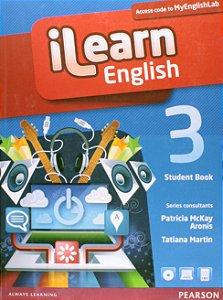 Ilearn English 3 - Student Book + Workbook + Multi-Rom + Reader + Myenglishlab