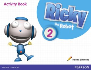 Ricky The Robot 2 - Activity Book