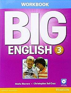 Big English 3 - Workbook With Audio Cd