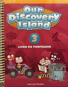 Our Discovery Island Level 3 - Livro Do Professor + Workbook + Multi-Rom + Online World