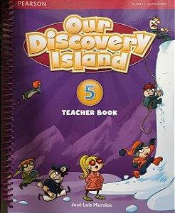 Our Discovery Island 5 - Teacher Book + Workbook + Multi-Rom + Online World