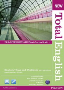 New Total English - Pre-Intermediate - Flexi Course Book 1 - Students' Book And Workbook With Activebook