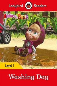Masha and the Bear: Washing Day - Ladybird Readers - Level 1