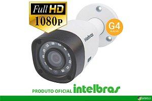 Câmera Intelbras Bullet Multi HD 1220B G4 Full HD (2.0MP | 1080p | 3.6mm | Plast)