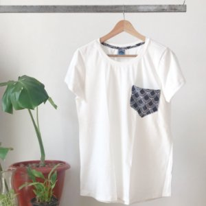 CAMISETA TURIA OFF WHITE ESCAMA PB