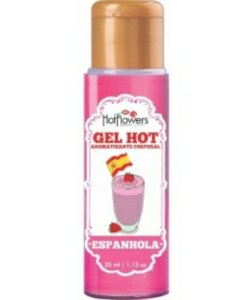Gel Aromatizante Hot - Espanhola 35ml