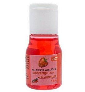 Óleo Comestível para Massagem - Morango