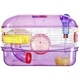 Gaiola Hamster Acrílica Completa