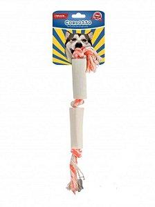 Cordosso Osso Natural Duplo para Cães Pequeno e Médio Porte
