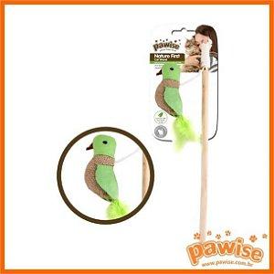 Varinha Nature Pássaro com Catnip Pawise